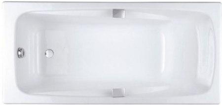 Ванна чугунная Jacob Delafon REPOS с ручками 170x80, 180x85