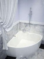 Ванна акриловая Vayer Iryda 150x150
