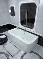 Ванна акриловая Vayer Options BTW 180x85