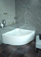 Ванна акриловая Relisan Mira 135x135, 140x140, 150x150