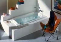Ванна чугунная Roca Akira с ножками и ручкой 170x85