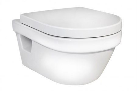 Безободковый унитаз Gustavsberg Hygienic Flush с крышкой Soft close