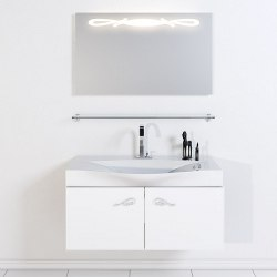 Мебель для ванной Aqwella Roma 100