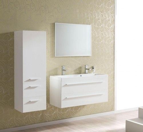 Мебель для ванной Elita Kwadro 120x40 двойная