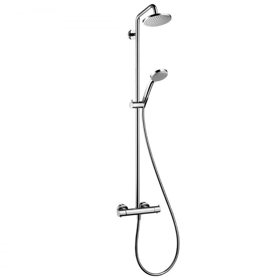 hansgrohe croma 160 showerpipe. Black Bedroom Furniture Sets. Home Design Ideas