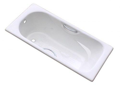 Ванна чугунная Goldman Donni 150x75, 170x75 с ножками и ручками