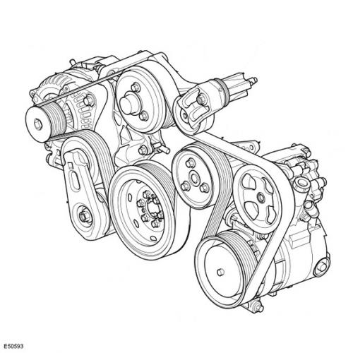 Ремни навесного оборудования (грм)