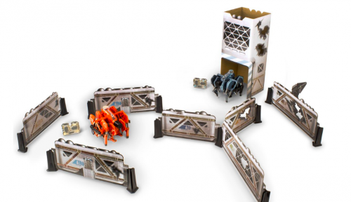 Набор из двух боевых тарантул Hexbug Battle Tarantul Bunker (2.0)
