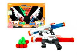 1toy Street Battle игр оружие с мягкими шариками (в компл. 2 пист., 20 шар. 3,4 см), короб. Т13652