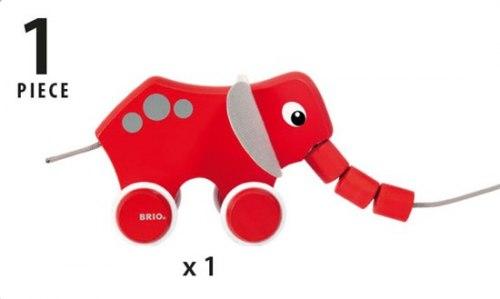 Каталка-слоник BRIO 30186
