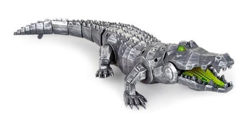 Игрушка Аллигатор–Киборг, свет и звук Т16440