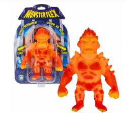MONSTER FLEX Вулкан тянущяяся фигурка блистер 15см 1Toy Т18100-9