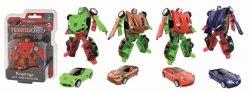 Металлический робот-трансформер - Transcar mini собирается в спорткар 1Toy Т12063