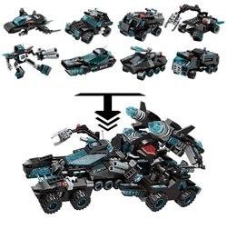 Конструктор 1 TOY Blockformers Т18963 Мегатрансфорсер 8 шт