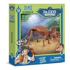 DR.STEVE: набор раскопки трицератопс GEOWORLD
