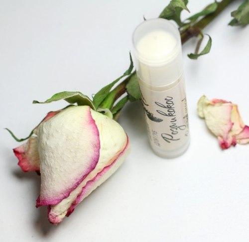 """Бальзам для губ """"Роза и Кокос"""" Mixtura"""