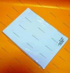 Фотобумага Самоклеящаяся глянцевая, А4, 120гр. (50 листов) эконом-класс