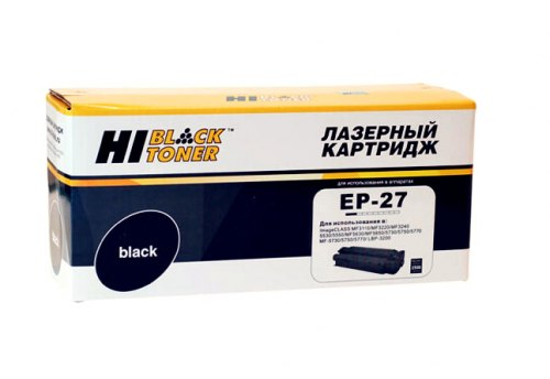 Картридж Canon MF3110/3228/3240/LBP3200 (Hi-Black) EP-27, 2,5K