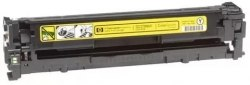 Заправка HP Color LaserJet CP1215/1515/1518/CM1312 (CB542A (№125A) - желтый)