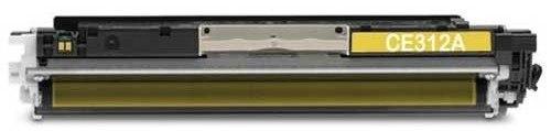 Заправка HP Color LaserJet Pro CP1025 (CE312A - желтый)