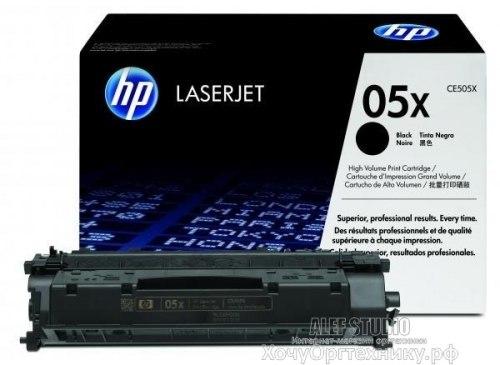 Заправка HP LJ 2035/2055 (CE505X)