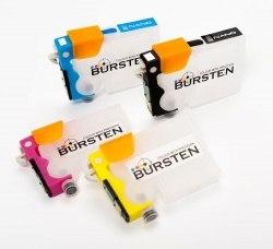 Нано-картриджи BURSTEN 2- го поколения SC10 для принтеров EPS S22 (T1281- T1284) x4, с патентованным