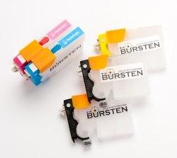 Нано-картриджи BURSTEN 2- го поколения SC10 для принтеров EPS T 1100 (2xT731HN, T1032 - T1034) x5, с