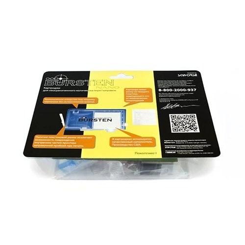 Нано-картриджи BURSTEN I CH4 для принтеров HP C310b с картриджами 178 x 5 (без чипов)