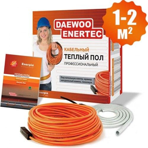 Кабельный теплый пол Enerpia daewoo-enertec DW25W11L