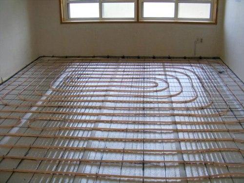 Теплый пол daewoo-enertec 56 м2 (частный дом)