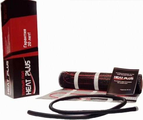 Кабельный мат HeatPlus SEGGI-MAT150 7.0 КВ.М 1050 ВТ