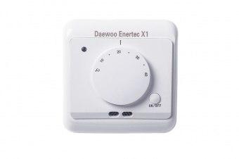 Терморегулятор daewoo-enertec X1 для теплого пола