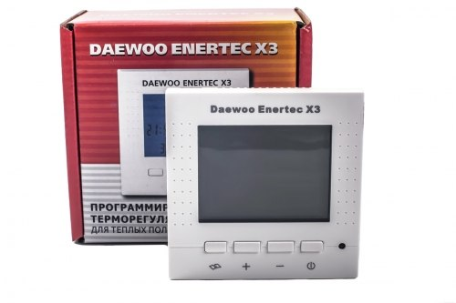 Терморегулятор daewoo-enertec X3 для теплого пола