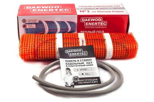 Электрические маты Daewoo Enertec (RAON) RFHM T150W2.0M
