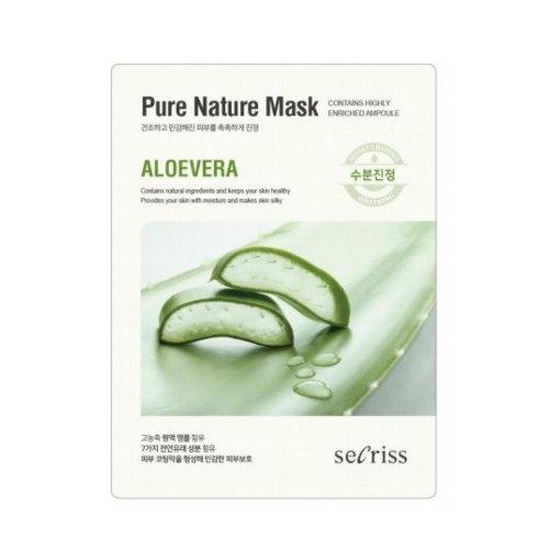 Серия тканевых маскок для лица ANSKIN Secriss Pure Nature Mask Pack 25мл