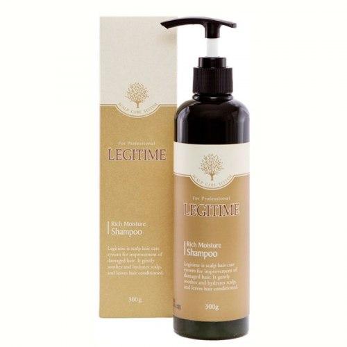 Увлажняющий шампунь от перхоти професиональный WELCOS Mugens Legitime Rich Moisture Shampoo - 300 мл