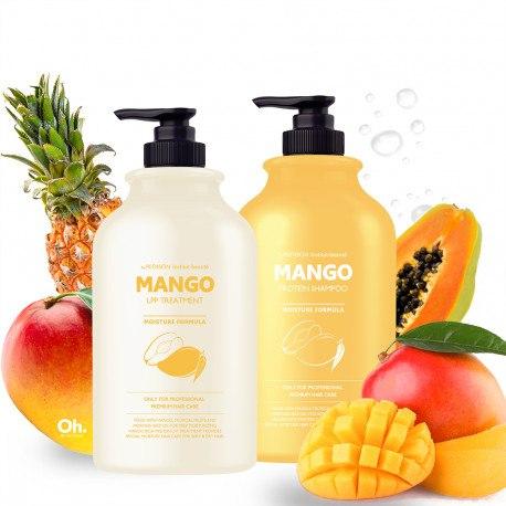 Шампунь (Маска) для волос EVAS PEDISON MANGO TREATMENT & SHAMPOO 500ML