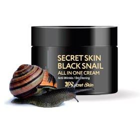 Многофункциональный крем для лица с экстрактом черной улитки SECRET SKIN Black Snail ALL IN ONE Cream 50 гр
