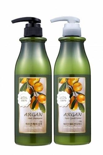 Шампунь/Кондиционер для всех типов волос с чистым аргановым маслом WELCOS Confume Argan Hair Conditioner/Shampoo 750 мл