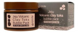 Очищающая пузырьковая маска для лица с вулканической глиной EYENLIP Jeju Volcanic Clay Toks Bubble 100мл