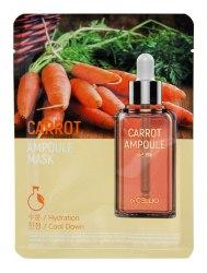 Ампульная маска морковная Dr. Cellio Carrot Ampoule Mask 25мл