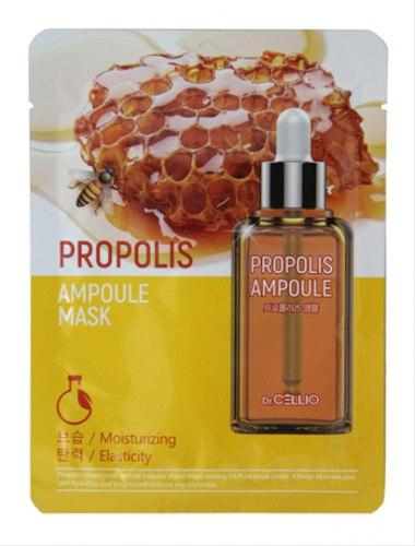 Ампульная маска с прополисом Dr. Cellio Propolis Ampoule Mask 25мл