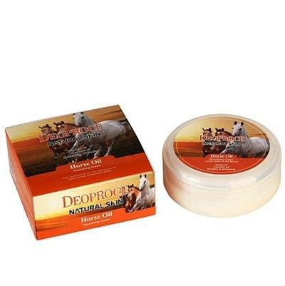 Питательный крем с конским жиром DEOPROCE Natural Skin Horse Oil Nourishing Cream100мл