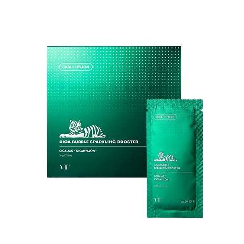 Кислородная маска-пенка VT Cosmetics CICA BUBBLE SPARKLING BOOSTER 10Г