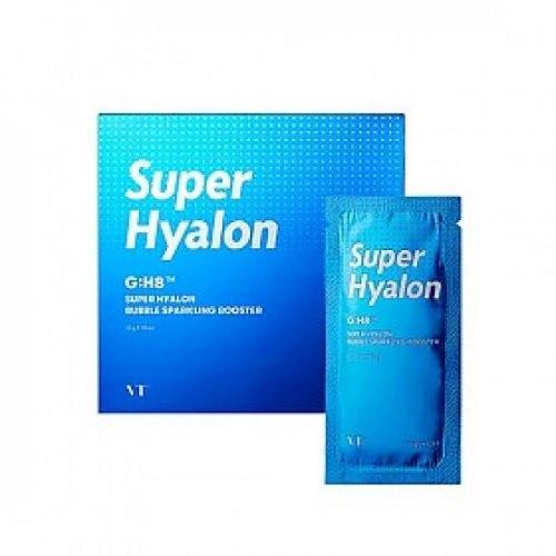 Кислородная маска-пенка VT Cosmetics Super Hyalon Bubble Sparkling Booster 10мл