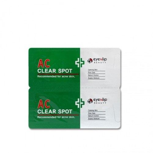 Крем для кожи склонной к акне для точечного нанесения EYENLIP AC Clear Spot 1.5g (1 + 1)