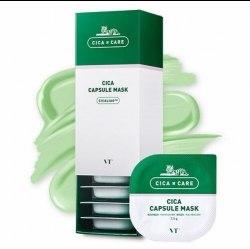 Капсульная глиняная маска с центеллой азиатской VT Cosmetics Cica Capsule Mask 7,5 гр