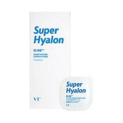 Капсульная глиняная маска с 8 видами гиалуроновой кислоты VT Cosmetics Super Hyalon Capsule Mask 7,5гр