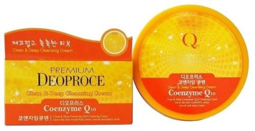 Очищающий крем с коэнзимомQ10 DEOPROCE Premium Clean & Deep Coenzyme Cleansing Cream 300мл
