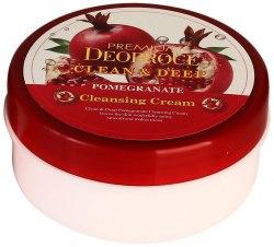 Очищающий крем с гранатом DEOPROCE Premium Clean & Deep Pomegranate Cleansing Cream 300мл